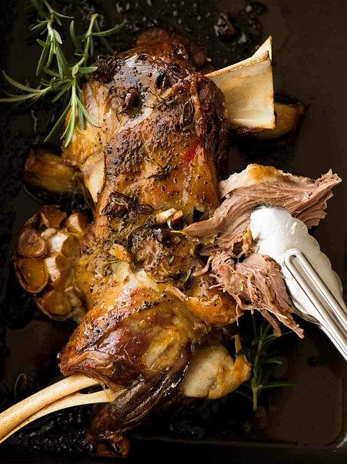 Rolled Shoulder Lamb (lb) - 3 portions per lb