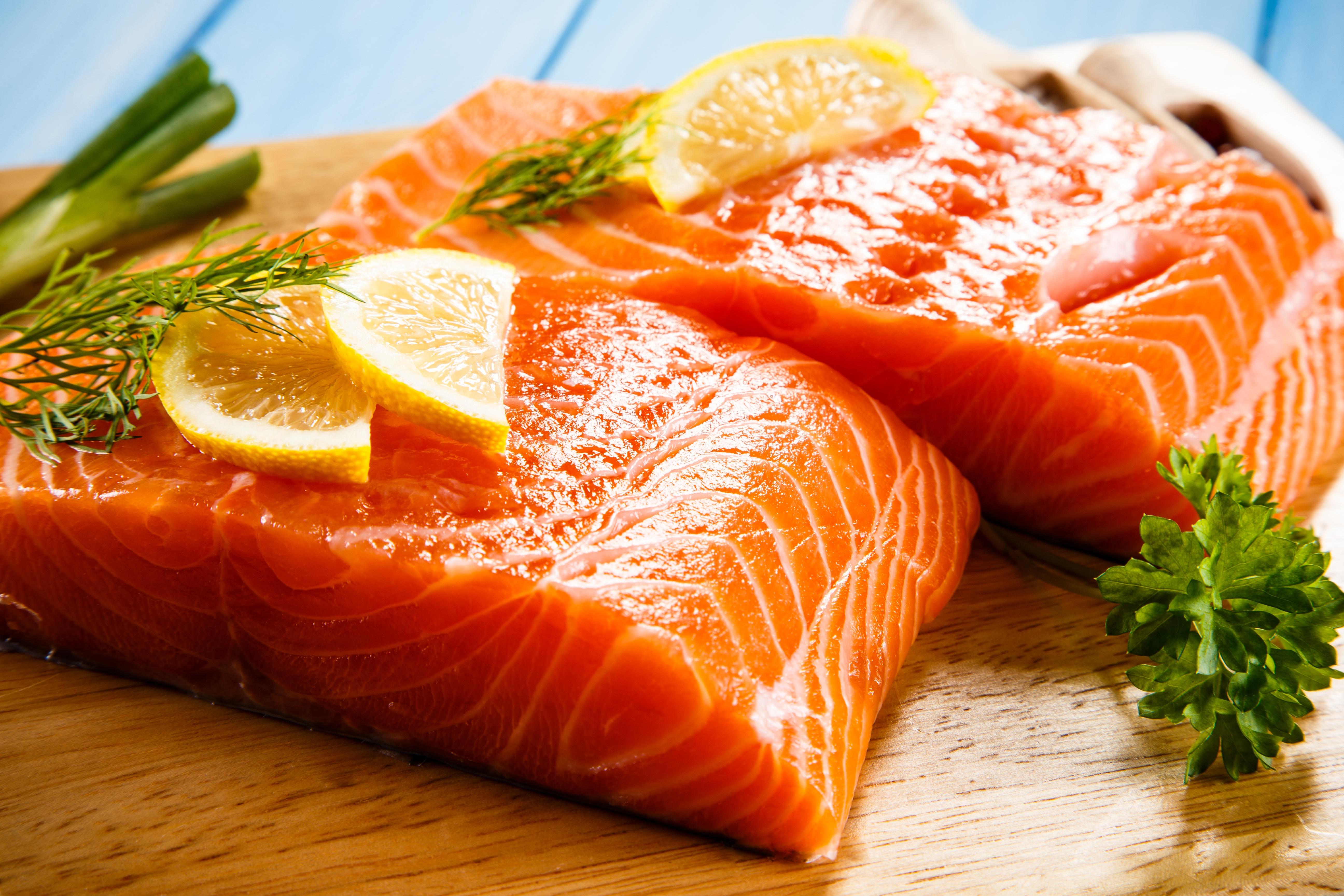 Salmon fillets 2