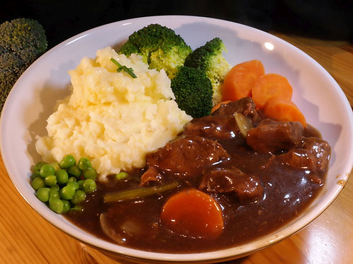 Slow Cooked Beef Casserole - Ready to heat!