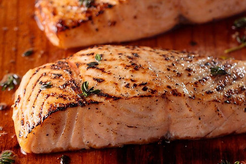 Hot Smoked Salmon Fillets (each) - 120g min weight