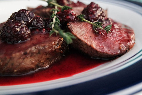 Venison Medallions (lb) -1lb serves 2-3 people