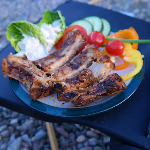 Smokey BBQ Baby Back Pork Ribs - rack of 5