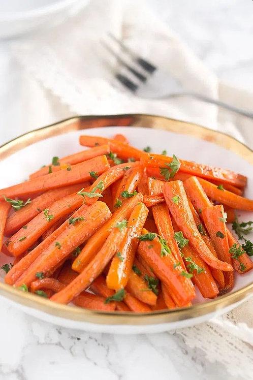 Honey Glazed Carrots (Tray) - serves 2-3
