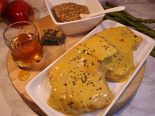 Honey & Mustard Pork (lb) - 1lb serves 2
