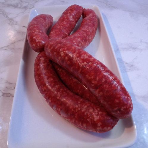 Low fat Steak Sausages (lb) - approx 12 per lb