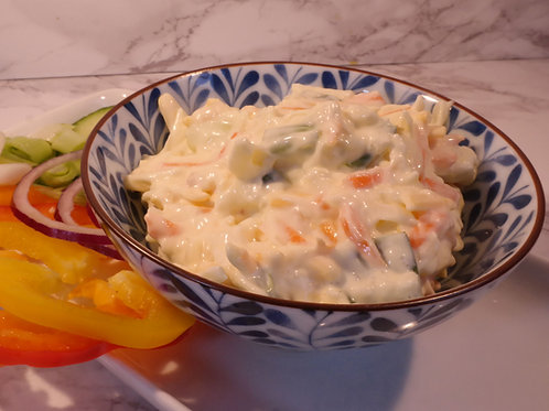 Cheese & Spring Onion Coleslaw (tub)