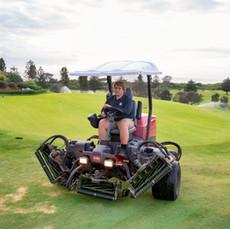 Simon Pettersson (Sweden) at Mona Vale Golf Club
