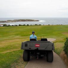 Sofia Westin (Sweden) at New South Wales Golf Club