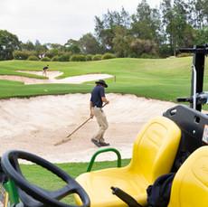 Oliver Gustavsson (Sweden) at Terrey Hills Golf Club