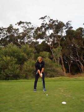 Carl Billberg at New South Wales Golf Club