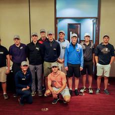 Social group photo at Terrey Hills Golf Club