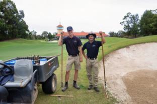 John Falk & Oliver Gustavsson, Terrey Hills Golf Club