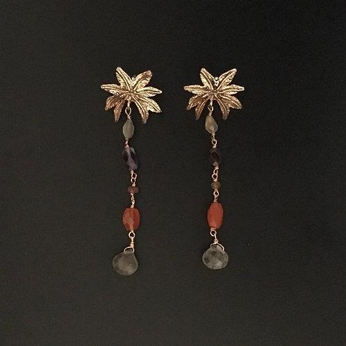 Palme - orecchini lunghi