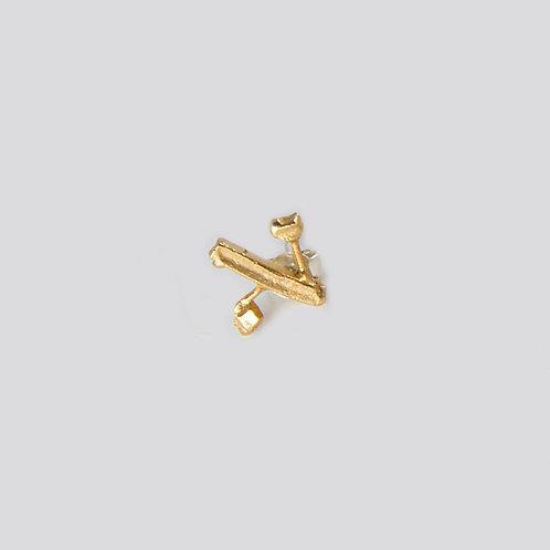alef (single earring)