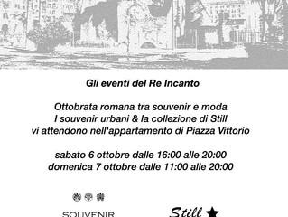 Ottobrata romana tra souvenir e moda