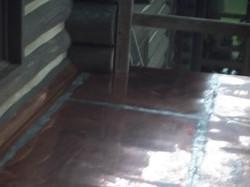 Copper floor in Greenville