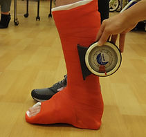 Aligning Cast for Gait Training