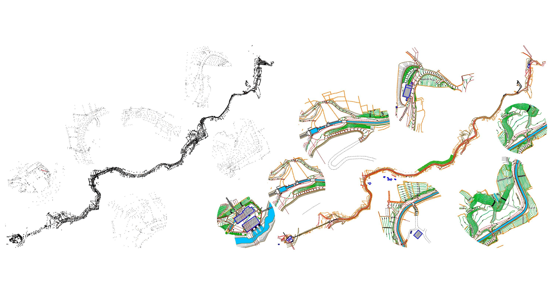 Topografia Pontevedra Hidrofreixa