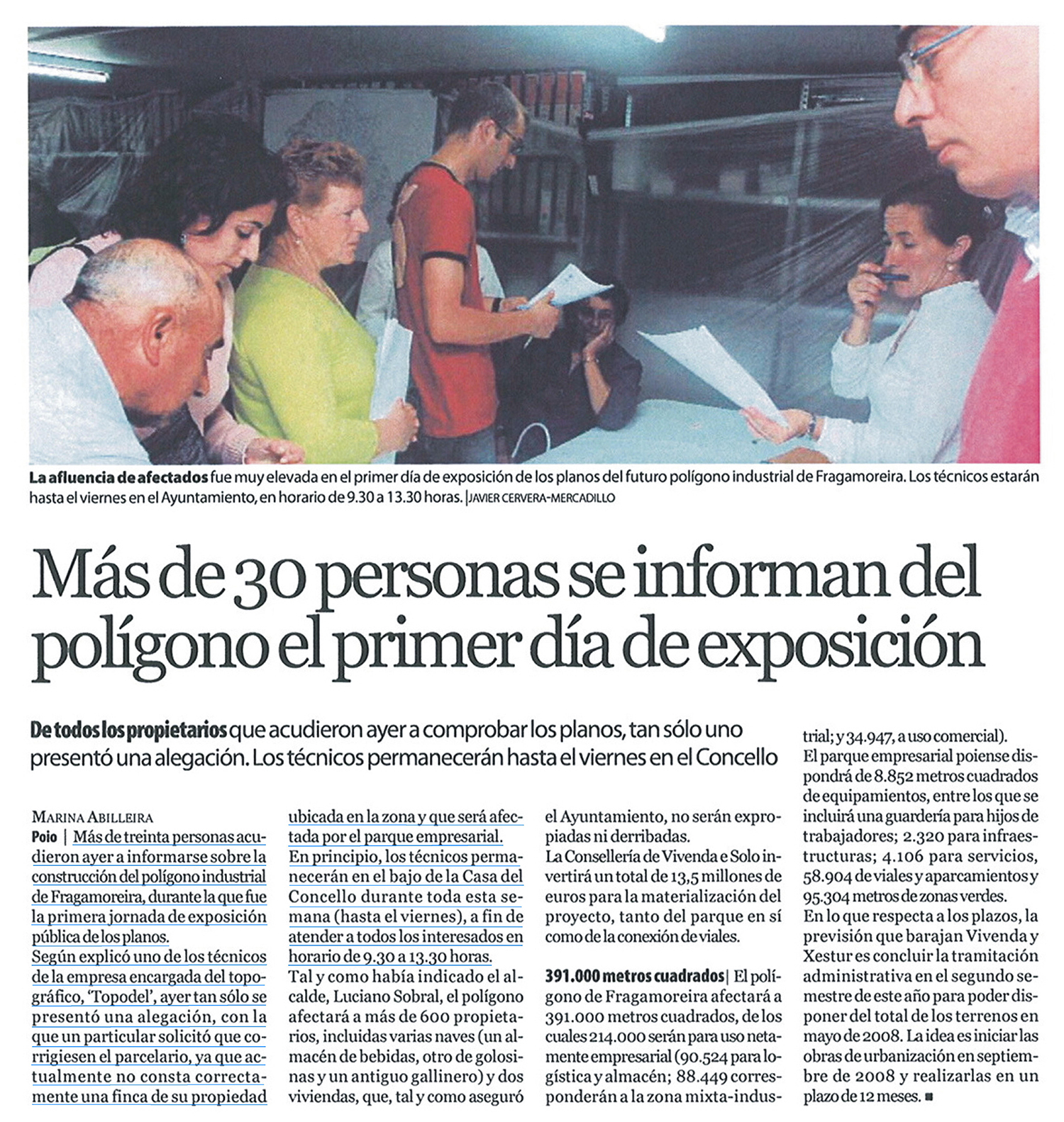 12-06-2007  Diario de Pontevedra