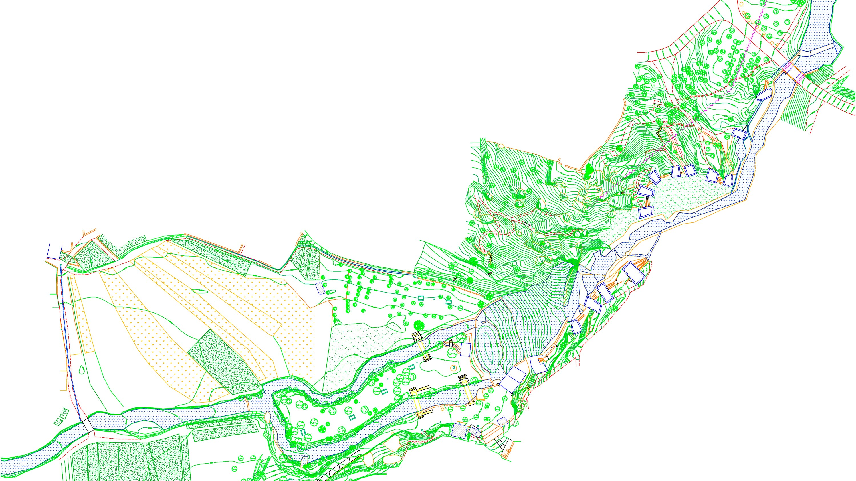 Levantamiento topográfico en Barosa