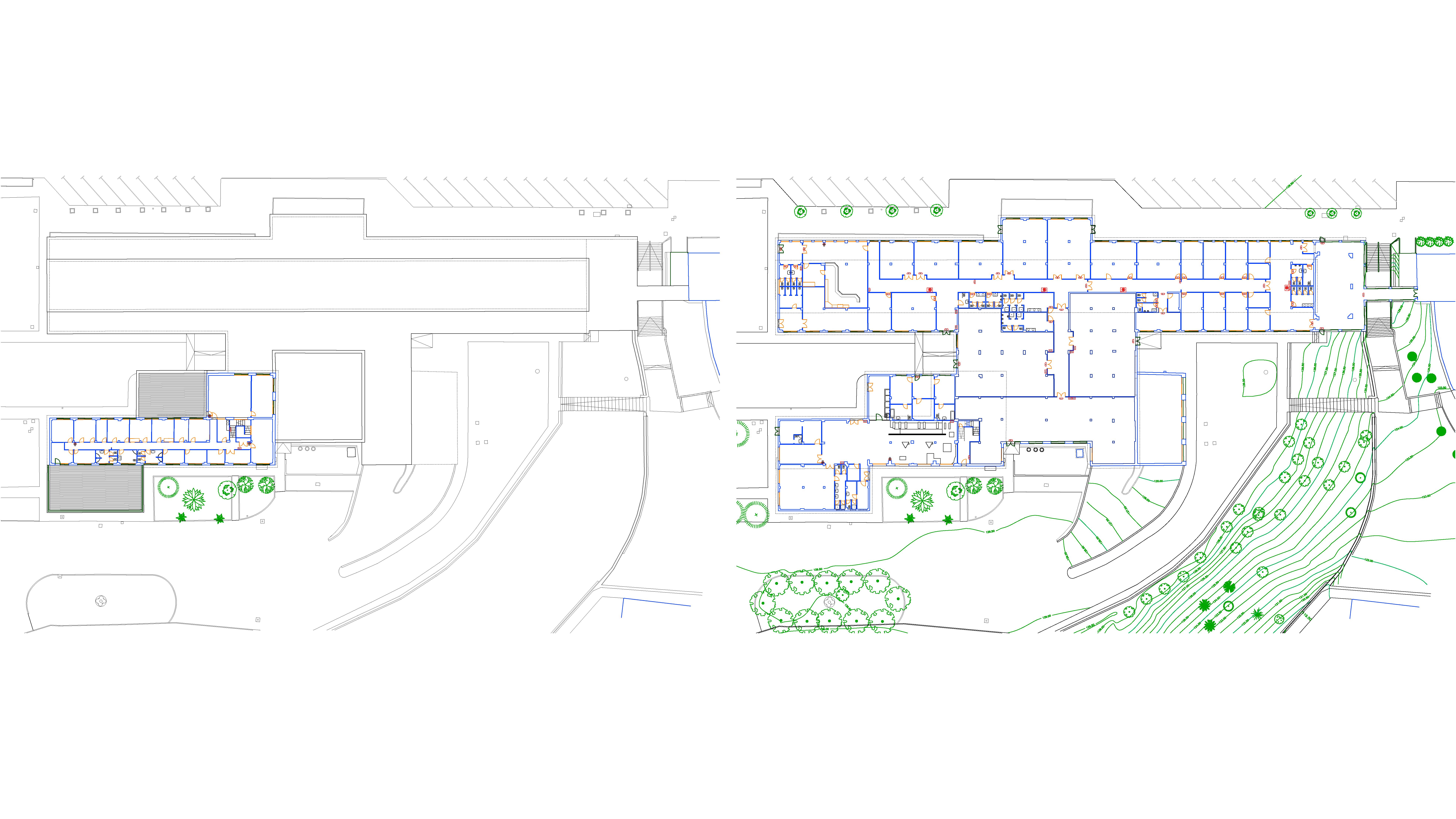 estado actual plantas de edificio