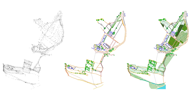Topografia Pontevedra Hifas da Terra