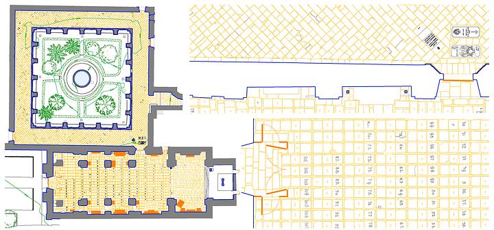 Digitalización Pavimento del Monasterio de Poio