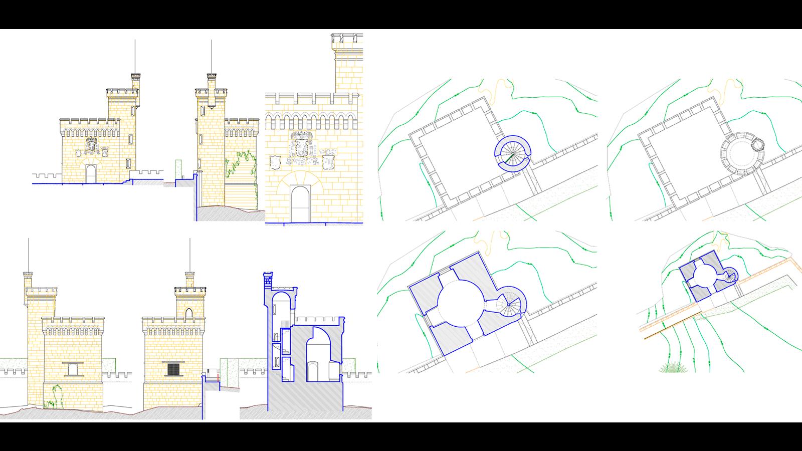 estado actual de torres en galicia