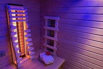 Infrared sauna in ultra violet light.jpg