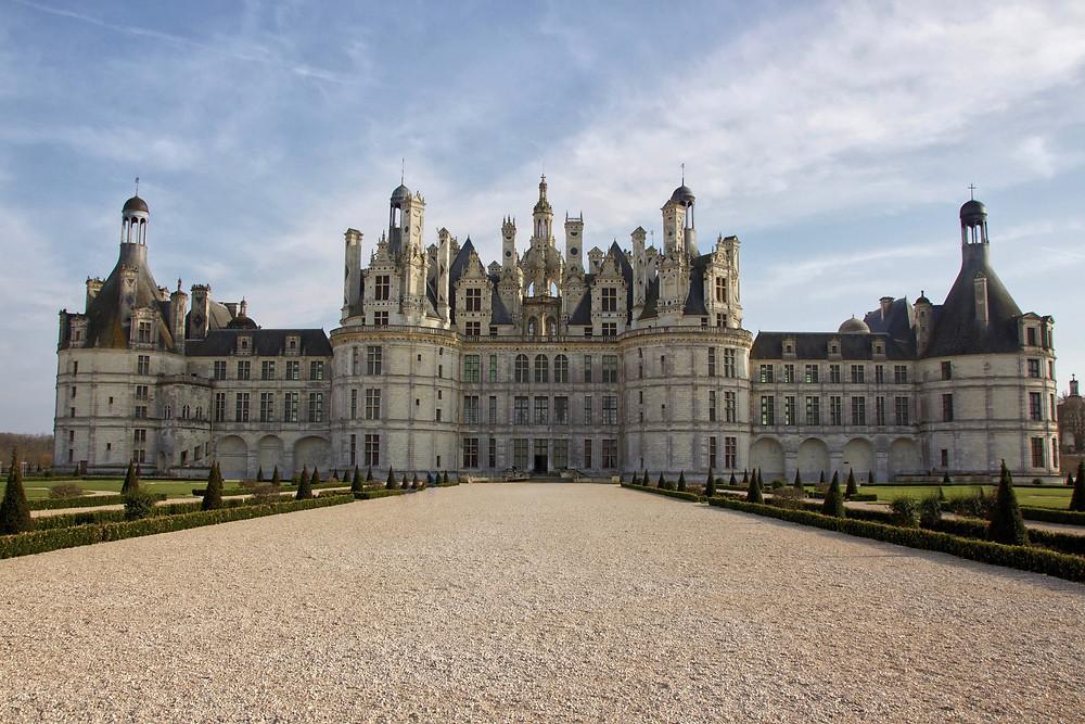 Facade Nord-Ouest du Château. © Antonin Albert