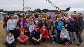 Около 70 человек из НРВ, Нижней Саксонии и Гессена с 14 по 20 июля провели здесь время интересно.