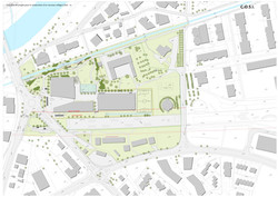 Sion neuer Campus und Naturzone