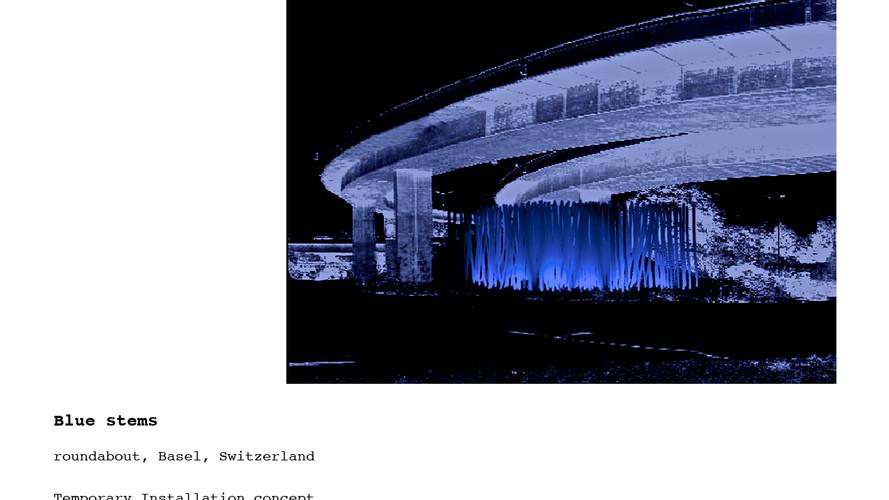 Blue Forest  |  Basel  |  2007