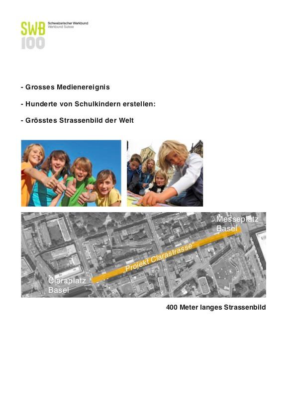 Clarastrasse Installation interaktiv, 2009