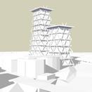 Wohntürme mit vertikalem Wald, mkit Holzkonstruktion , 2018
