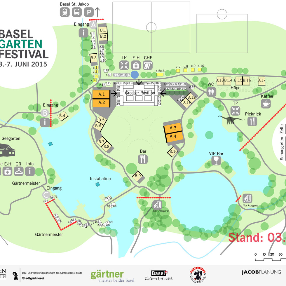 gardenfestival in Basel