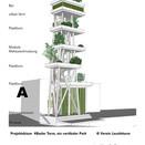 Basler Turm, erster vertikaler Park