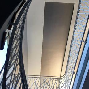 Forged Interior Balustrade by Alon Fainstein