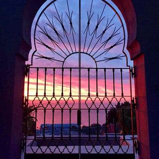 Decorativesecurity gate by Alon Fainstein