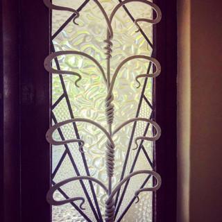 Decorative window security bar