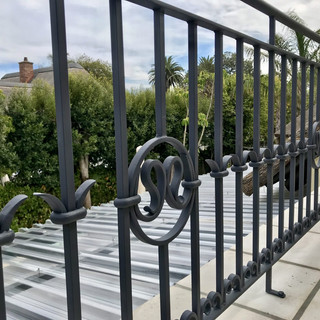 Exterior Forged Balustrade by Alon Fainstein
