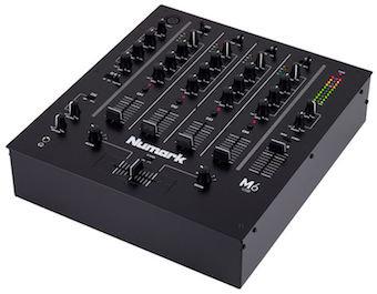 Dj Mixer _Numark M6 USB Black