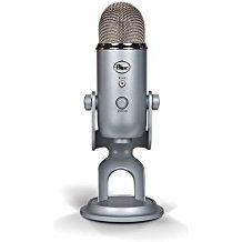 Blue Microphones Yeti - Microphone for computer (USB, 16-bit, 48 KHz, 16 ohms,