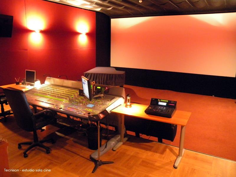 TECNISON Estudio Sala de Cine