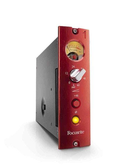FOCUSRITE Serie 500 _RED 1 500 Series Mic Pre