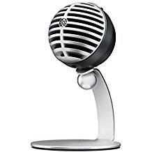 Shure MV5-LTG , micrófono de condensador digital para USB y lightning, 3 modos d