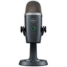 Blue Microphones Snowball- Micrófono USB, Aluminio Cepillado