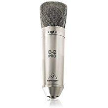 Behringer B-2 PRO - Condenser microphone (diaphragm, studio, dual) estudio, dual)