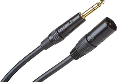 Cable Micrófono balanceado Pro Line / Conectores Neutrick Negros