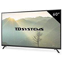 Televisores Led 60 Pulgadas Full HD TD Systems K60DLT7F. Resolución Full HD, 3x